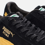 Мужские кроссовки Puma Roma Gents Black/Spectra Yellow/White/Gold фото- 5