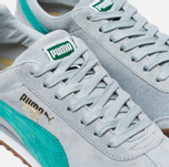 Мужские кроссовки Puma Roma Gents Gla Blue/Green/White фото- 3