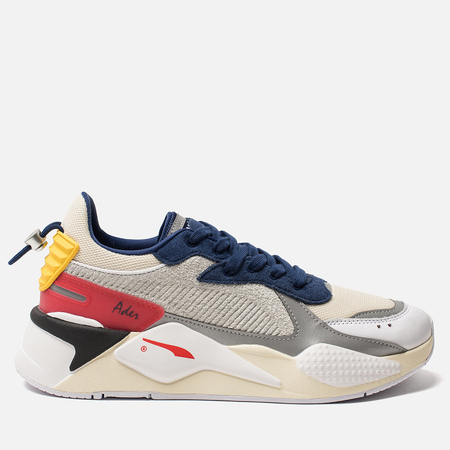 Мужские кроссовки Puma x Ader Error RS-X Whisper White/Blueprint/Red