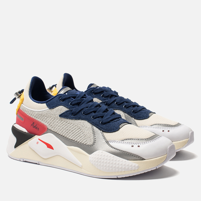 Кроссовки Puma x Ader Error RS-X Whisper White/Blueprint/Red