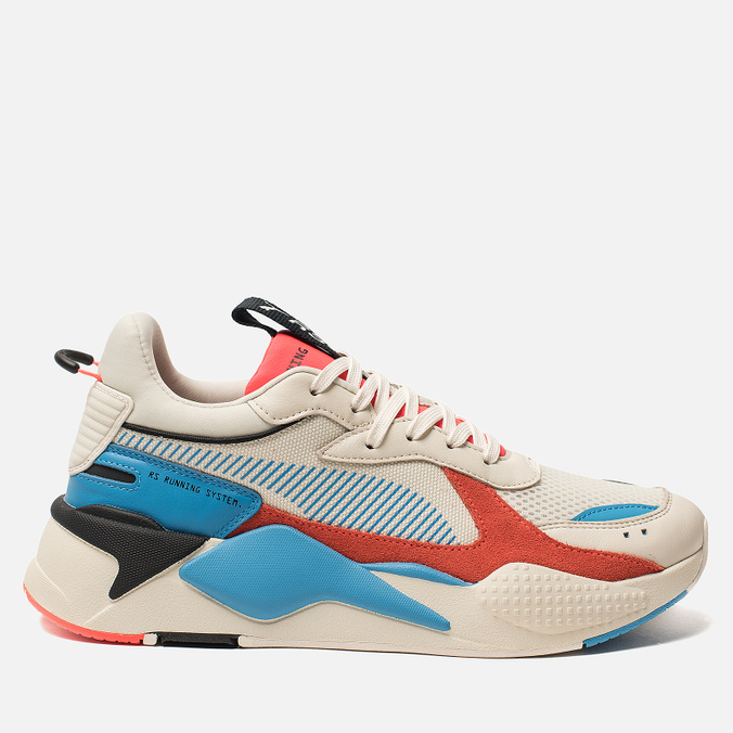 Мужские кроссовки Puma RS-X Reinvention Whisper White Red Blast ... 2159103c0e49a