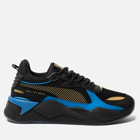 Мужские кроссовки Puma RS-X Toys Hot Wheels Bone Shaker Black/Team Gold