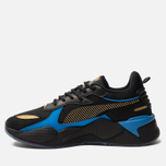 Мужские кроссовки Puma RS-X Toys Hot Wheels Bone Shaker Black/Team Gold фото- 1