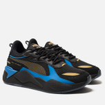 Мужские кроссовки Puma RS-X Toys Hot Wheels Bone Shaker Black/Team Gold фото- 2