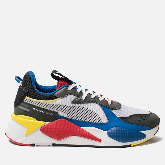 Кроссовки Puma RS-X Toys White Royal 369449-02 62b13a8d7288e