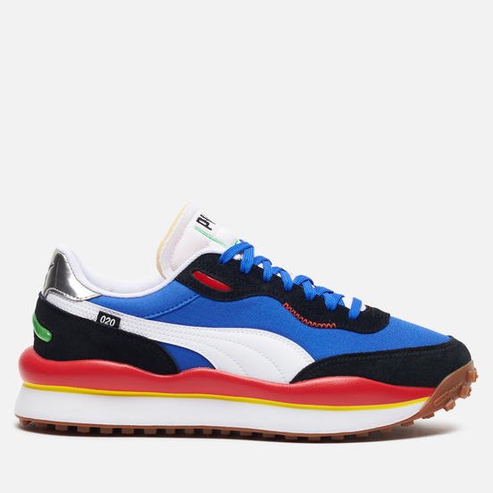 Мужские кроссовки Puma Style Rider Play On Daz Blue/Black/High Risk Red
