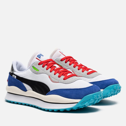 Мужские кроссовки Puma Style Rider Ride On White/Dazzling Blue/High Rise