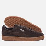 Мужские кроссовки Puma Suede Classic Citi Black Coffee фото- 1
