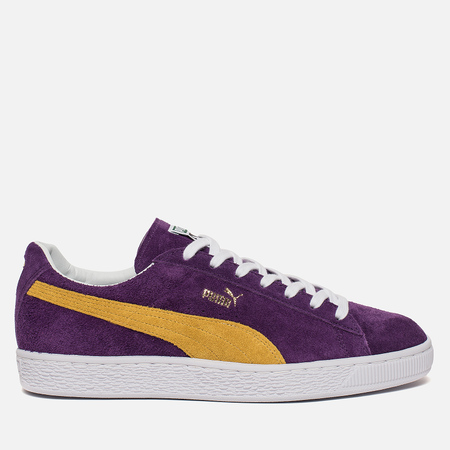 Мужские кроссовки Puma x Collectors Suede Classic Heliotrope/Spectra Yellow