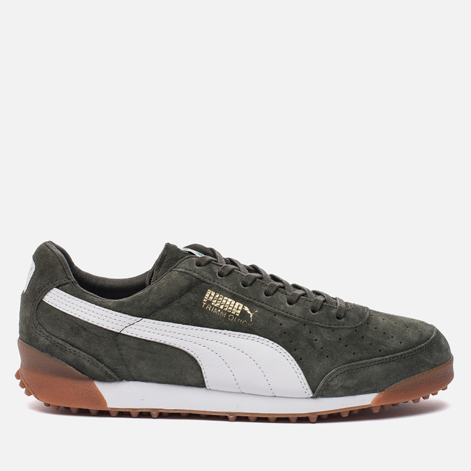 Мужские кроссовки Puma Trimm Quick MU Forest Night/White/Gold