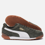 Мужские кроссовки Puma Trimm Quick MU Forest Night/White/Gold фото- 2