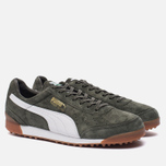 Мужские кроссовки Puma Trimm Quick MU Forest Night/White/Gold фото- 1