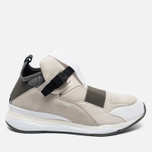 Мужские кроссовки Puma x Alexander McQueen Cell Bubble Runner Mid Whisper White фото- 0