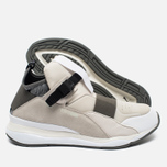 Мужские кроссовки Puma x Alexander McQueen Cell Bubble Runner Mid Whisper White фото- 2