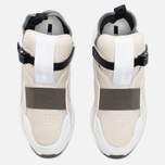 Мужские кроссовки Puma x Alexander McQueen Cell Bubble Runner Mid Whisper White фото- 3