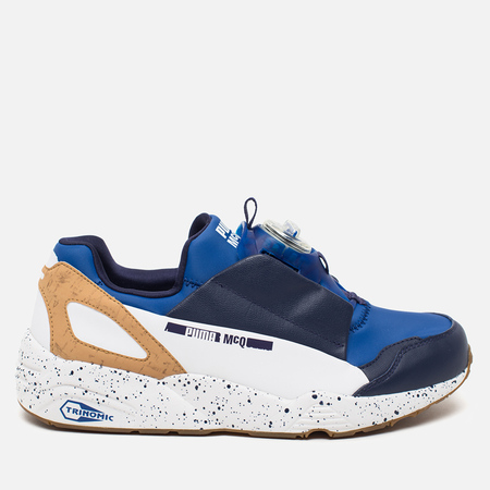 Puma x Alexander McQueen Disc Blaze Sneakers Blue Surf The Web/Astral Aura/White