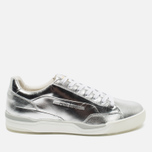 Мужские кроссовки Puma x Alexander McQueen Move Lo Lace Up Metallic Silver фото- 0