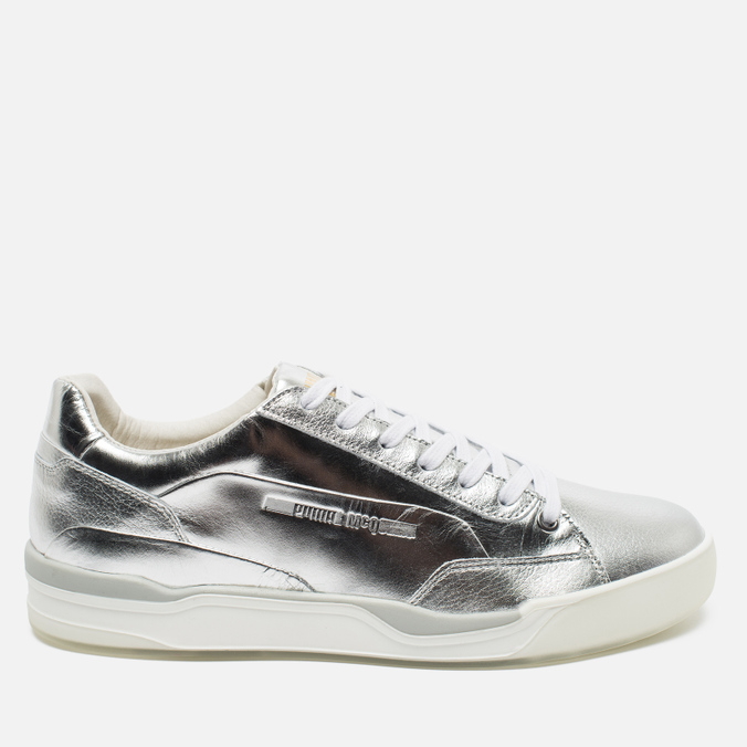 Puma x Alexander McQueen Move Lo Lace Up Men's Sneakers Metallic Silver