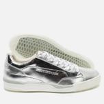 Мужские кроссовки Puma x Alexander McQueen Move Lo Lace Up Metallic Silver фото- 2