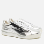 Мужские кроссовки Puma x Alexander McQueen Move Lo Lace Up Metallic Silver фото- 1