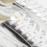 Мужские кроссовки Puma x Alexander McQueen Move Lo Lace Up Metallic Silver фото- 5