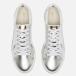 Мужские кроссовки Puma x Alexander McQueen Move Lo Lace Up Metallic Silver фото- 3
