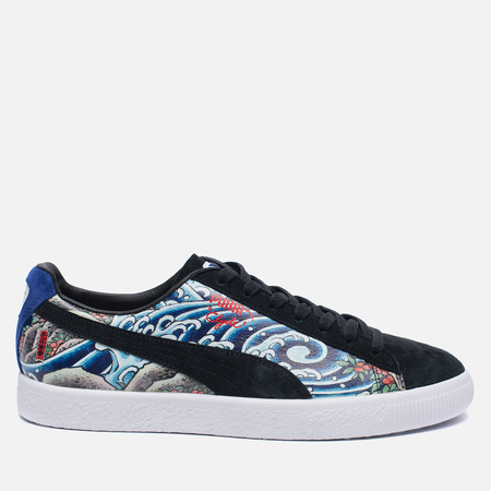 Мужские кроссовки Puma x atmos Clyde Three Tides Tattoo Black/Mazerine Blue