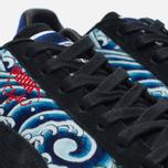 Мужские кроссовки Puma x atmos Clyde Three Tides Tattoo Black/Mazerine Blue фото- 3