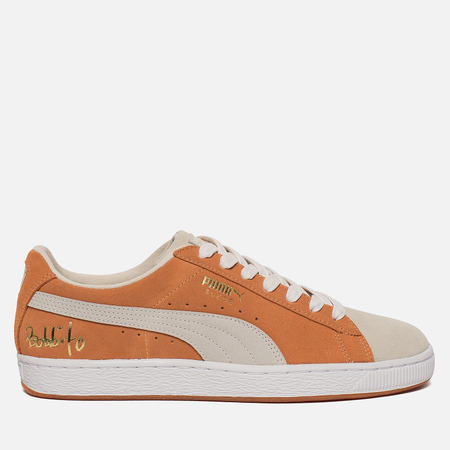 Мужские кроссовки Puma x Bobbito Classic Suede Apricot Buff/White