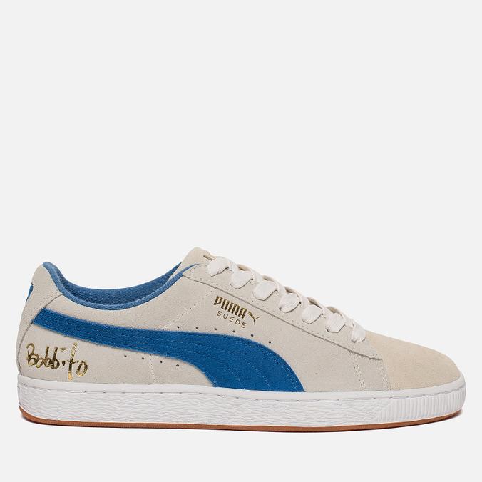 Мужские кроссовки Puma x Bobbito Classic Suede White/Royal