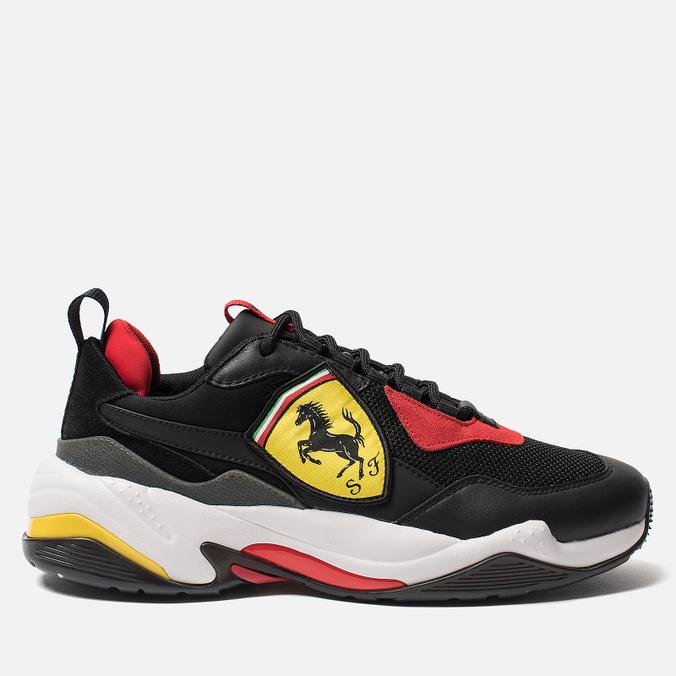 Мужские кроссовки Puma x Ferrari Thunder Black/Rosso Corsa