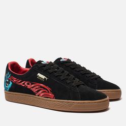 Мужские кроссовки Puma x Santa Cruz Suede Classic Black/High Risk Red