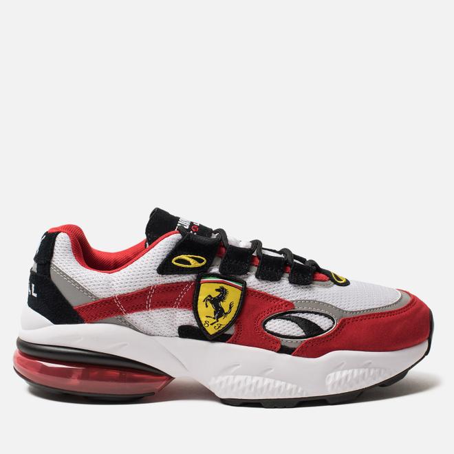 Мужские кроссовки Puma x Scuderia Ferrari Cell Venom White/Rosso Corsa