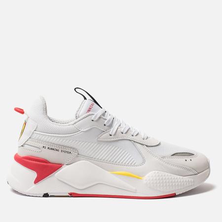 Мужские кроссовки Puma x Scuderia Ferrari RS-X Trophy White/White/Rosso Corsa