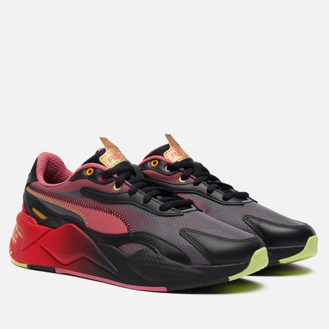 Мужские кроссовки Puma x Sonic RS-X3 Black/High Risk