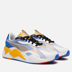Мужские кроссовки Puma x Sonic RS-X3 White/Golden Rod
