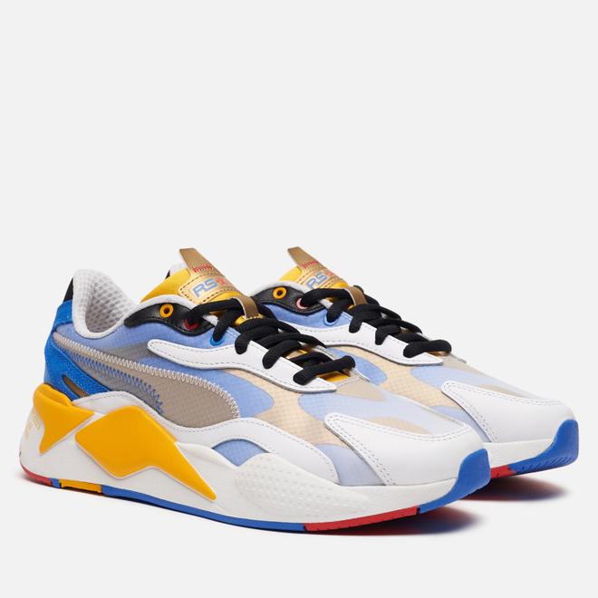 Мужские кроссовки Puma x Sonic RS-X3 White/Golden Rod