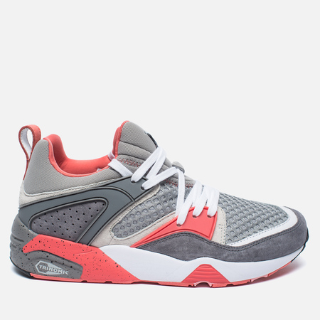 Puma x Staple Blaze Of Glory OG Men's Sneakers Silver Metallic/Frost Grey/Lunar Rock/Georga Peach
