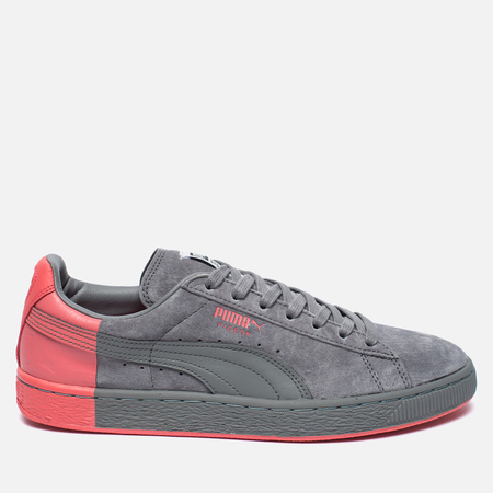 Puma x Staple Suede Men's Sneakers Frost Grey/Georga Peach