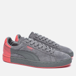 Мужские кроссовки Puma x Staple Suede Frost Grey/Georga Peach фото- 1