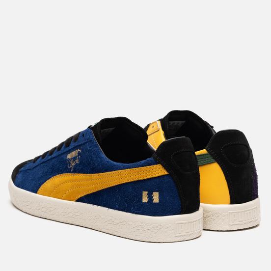 Мужские кроссовки Puma x The Hundreds Clyde Sodalite Blue/Spectra Yellow