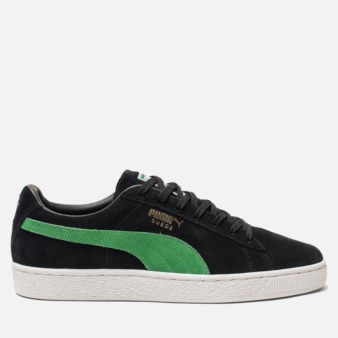 4921443c746 Мужские кроссовки x X-Large Suede Classic Black/Kelly Green