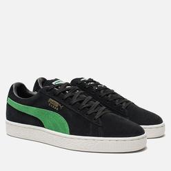 Мужские кроссовки Puma x X-Large Suede Classic Black/Kelly Green