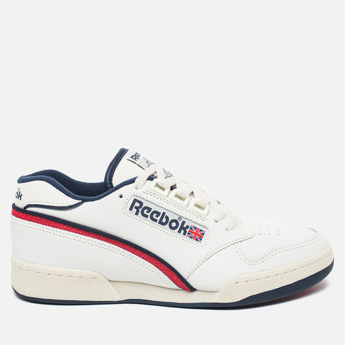 Reebok Act 600 85 Chalk/Paper Men's Sneakers White/Red/Navy