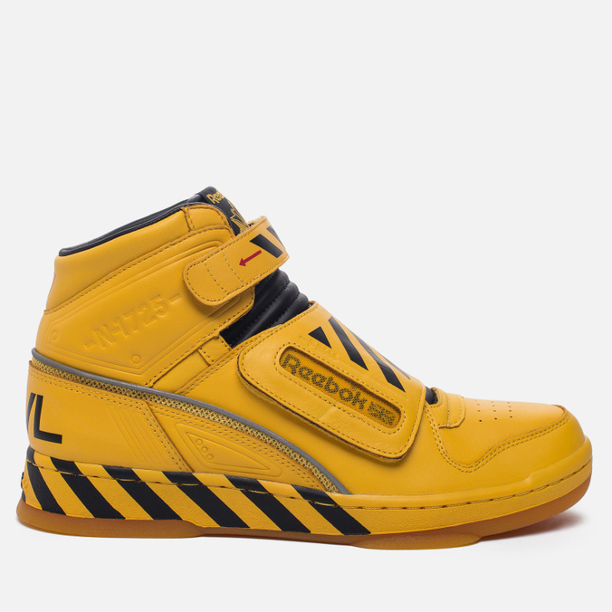 Мужские кроссовки Reebok Alien Stomper Power Loader Final Battle Pack Retro Yellow/Black/Gum