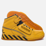 Мужские кроссовки Reebok Alien Stomper Power Loader Final Battle Pack Retro Yellow/Black/Gum фото- 1