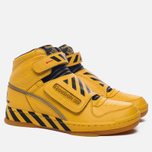 Мужские кроссовки Reebok Alien Stomper Power Loader Final Battle Pack Retro Yellow/Black/Gum фото- 2