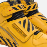 Мужские кроссовки Reebok Alien Stomper Power Loader Final Battle Pack Retro Yellow/Black/Gum фото- 3
