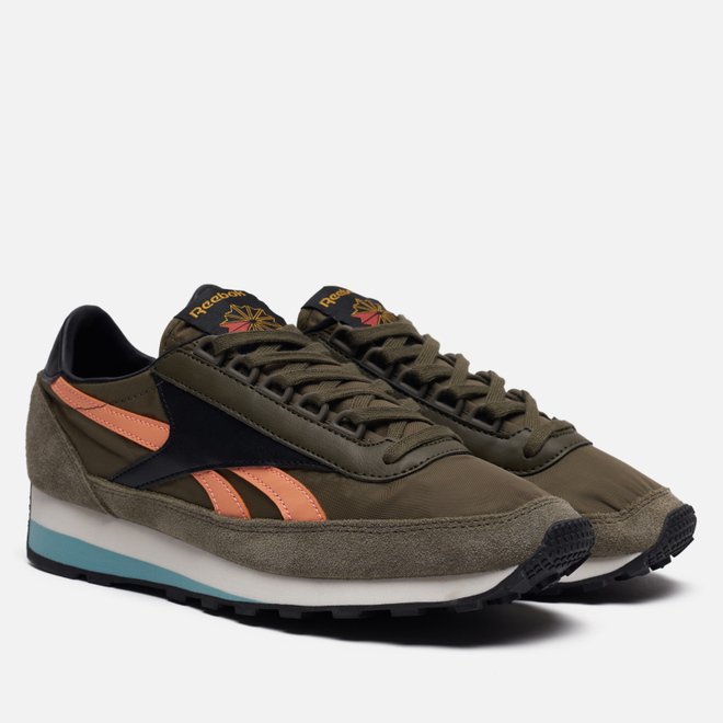 Мужские кроссовки Reebok AZ 79 Army Green/Green Slate/Sunbaked Orange