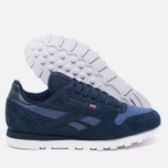 Мужские кроссовки Reebok CL Leather NP Collegiate Navy/Midnight Blue/White фото- 2